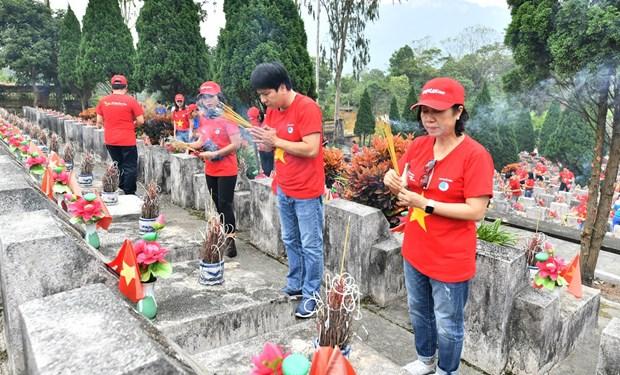 Vietjet: Nhieu chuong trinh lan toa thong diep ''Toi yeu To quoc toi'' hinh anh 1