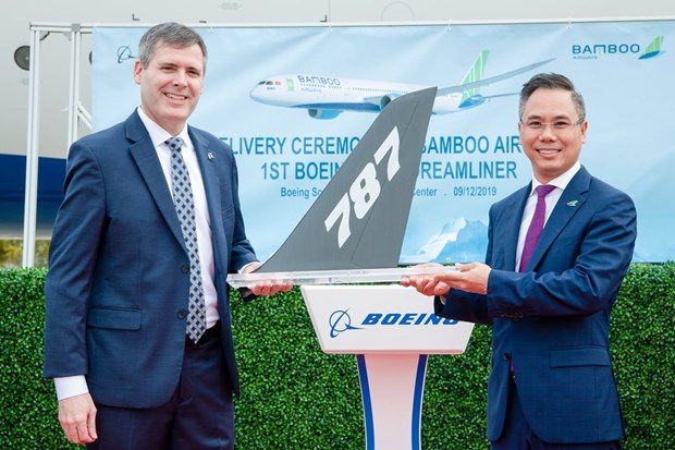 May bay Boeing 787-9 dau tien ve voi doi bay cua Bamboo Airways hinh anh 2