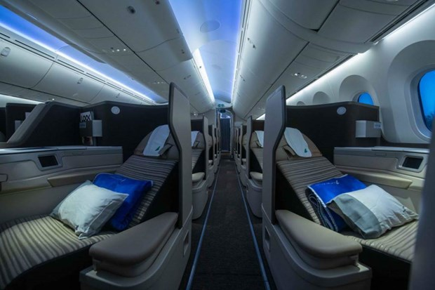 May bay Boeing 787-9 dau tien ve voi doi bay cua Bamboo Airways hinh anh 4