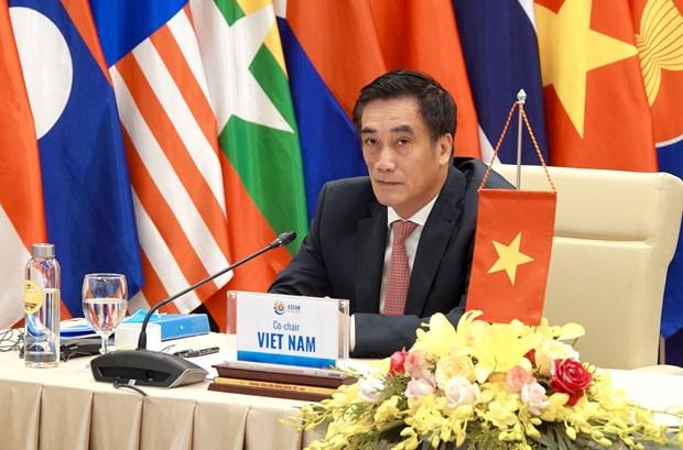 Viet Nam va Nhat Ban chu tri Hoi nghi truc tuyen AFCDM+3 hinh anh 1