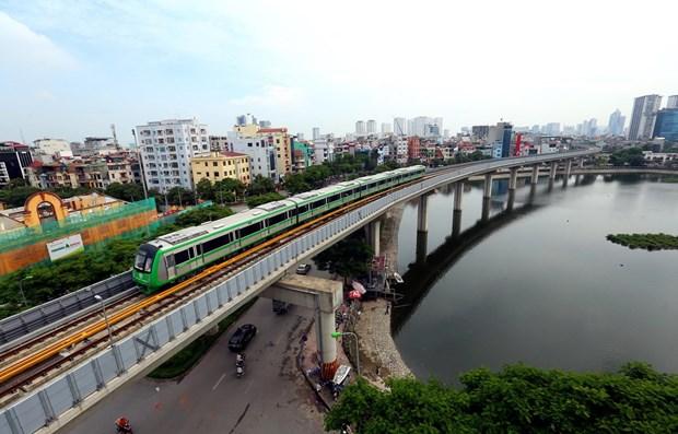 Đường sắt Cát Linh - Hà Đông được vận hành thử để đánh giá an toàn