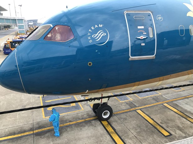 Chuyen bay duy nhat cua Vietnam Airlines tu TP.HCM ve Ha Noi hinh anh 5