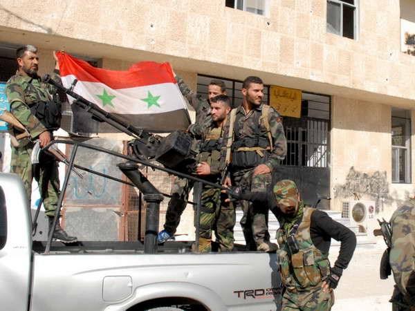 Tinh bao My, Israel chuan bi nhan su cho quan doi Syria hinh anh 1
