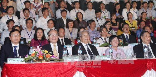 Khai mac Festival tra Thai Nguyen dam mau sac truyen thong hinh anh 1