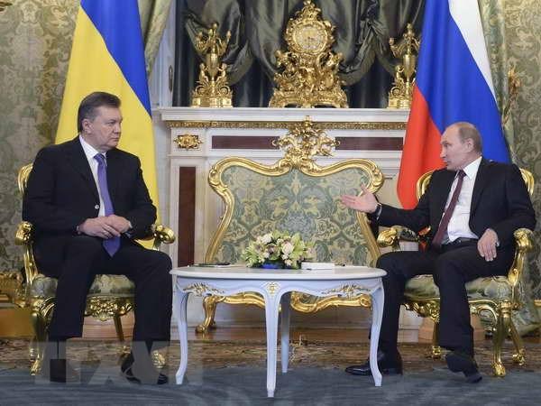 Nga va Ukraine day manh quan he hop tac chien luoc hinh anh 1