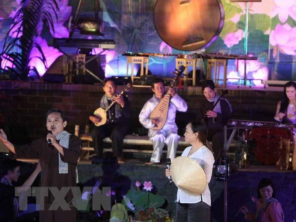Festival Don ca tai tu - co hoi nang cao vi the Bac Lieu hinh anh 1