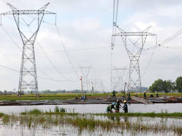 Dong dien, dua vao van hanh duong day 500 kV Phu Lam-O Mon hinh anh 1