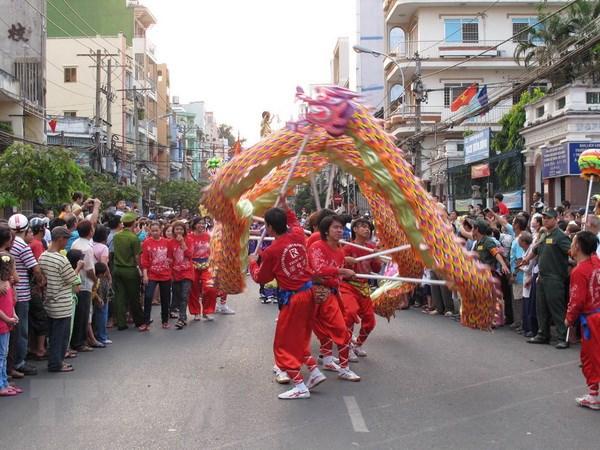 Mua lan su rong - net van hoa dan gian dac sac dip Tet Trung Thu hinh anh 1
