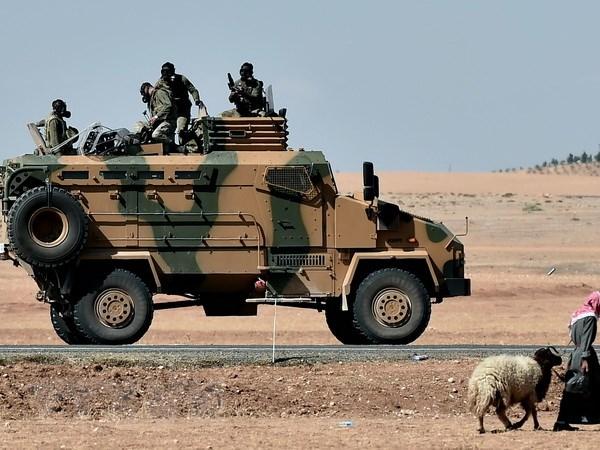 Phe doi lap Tho Nhi Ky ung ho quan doi tan cong IS de cuu Kobane hinh anh 1