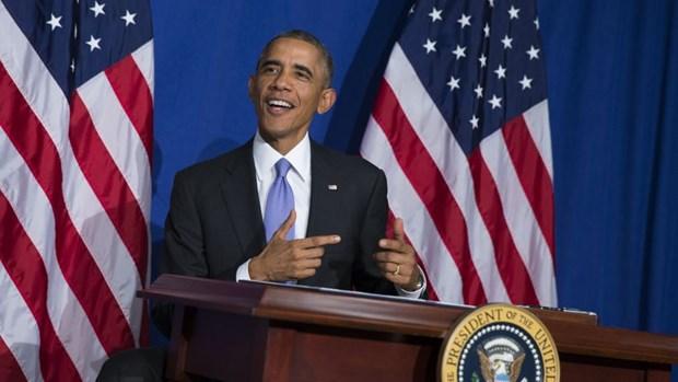 My: Tong thong Obama ky sac luat siet chat bao mat the tin dung hinh anh 1