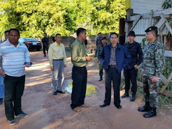 Campuchia bac tin hop tac voi Thai xay 60 lang o khu tranh chap hinh anh 1