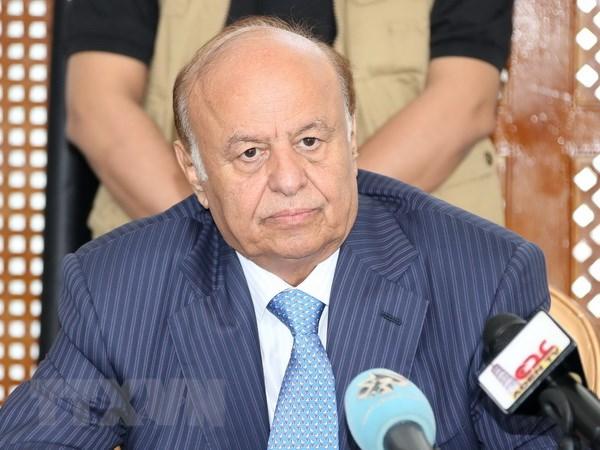 Yemen: Noi o cua Tong thong Hadi o thanh pho Aden bi khong kich hinh anh 1