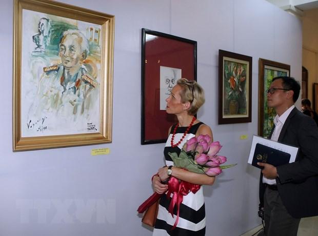 Khac hoa nhung phut giay doi thuong cua Dai tuong Vo Nguyen Giap hinh anh 1
