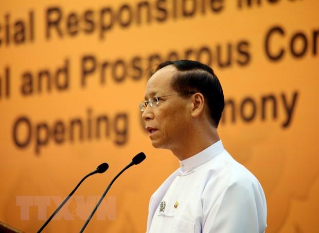 Myanmar dang cai hoi nghi cap cao CLMV 7 va ACMECS 6 hinh anh 1