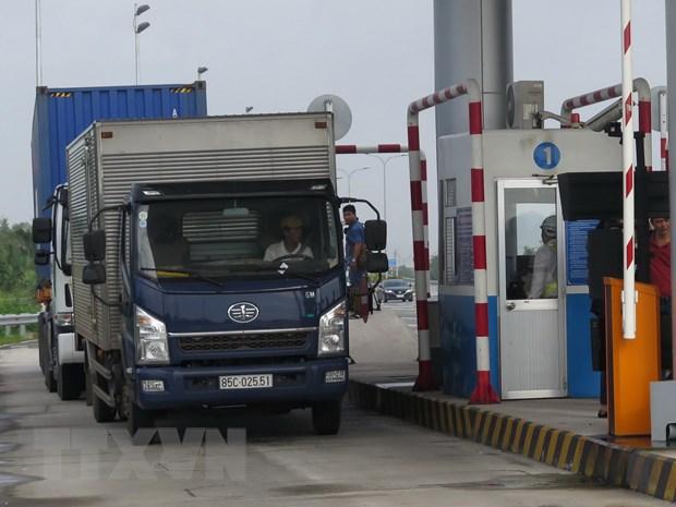 Gan 200 xe qua tai tren cao toc TPHCM-Long Thanh-Dau Giay hinh anh 1