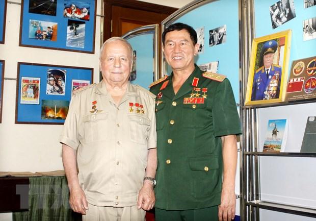 Chuyen bay vu tru Viet-Xo - dau moc cua tinh huu nghi Viet-Nga hinh anh 1