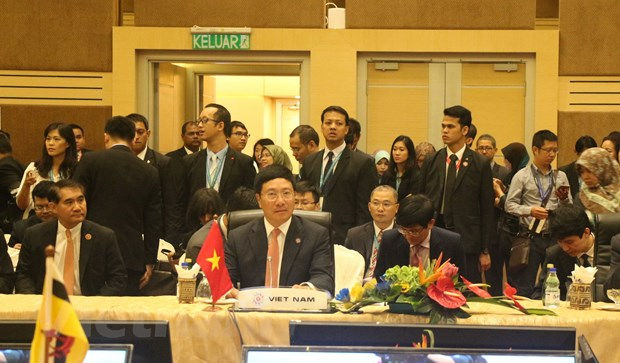 Bo truong ASEAN+3 va EAS thuc day hop tac, lien ket khu vuc hinh anh 2