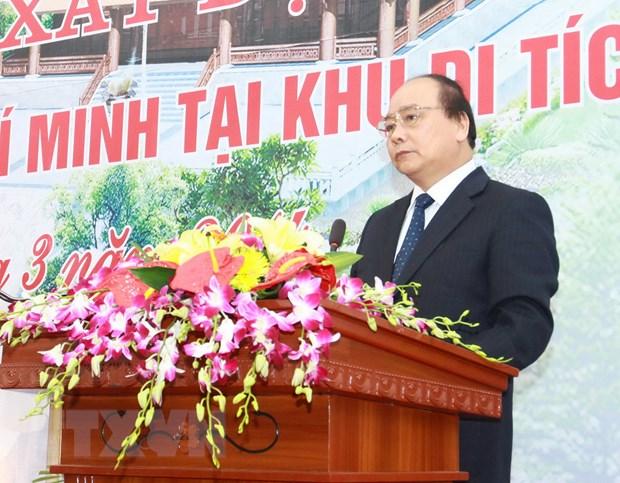 Khanh thanh Nha tuong niem Ho Chu tich tai Khu Di tich K9-Da Chong hinh anh 1