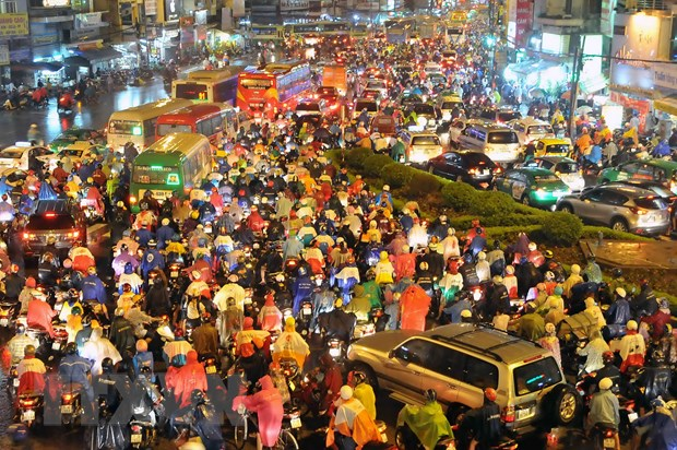 TP Ho Chi Minh no luc khac phuc 24 diem nong un tac giao thong hinh anh 1