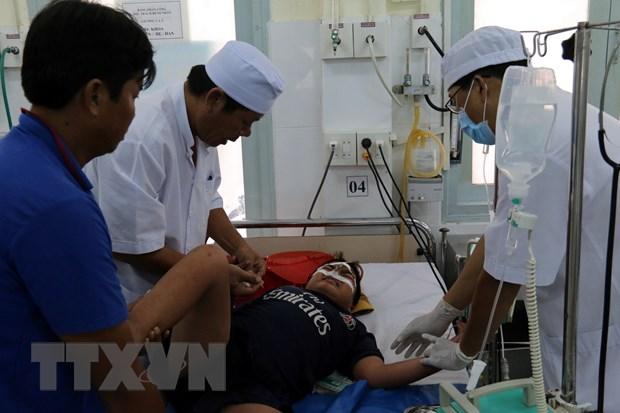 Khanh Hoa: Cuu song benh nhi bi sot xuat huyet Dengue the soc hinh anh 1