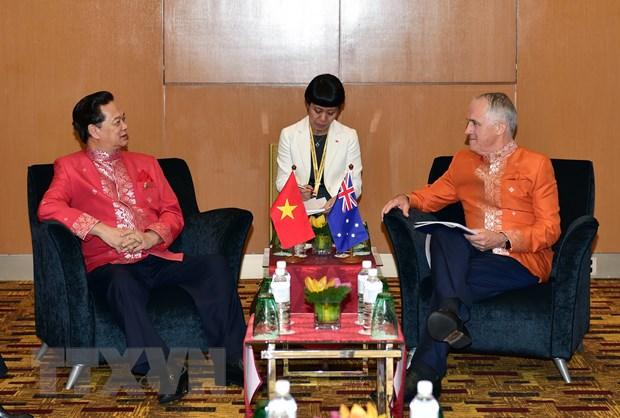 Thu tuong Turnbull hy vong xoai, thanh long Viet som den Australia hinh anh 1