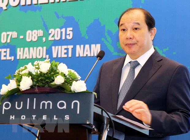 Cong dong kinh te ASEAN tang nang luc canh tranh cua khu vuc hinh anh 1