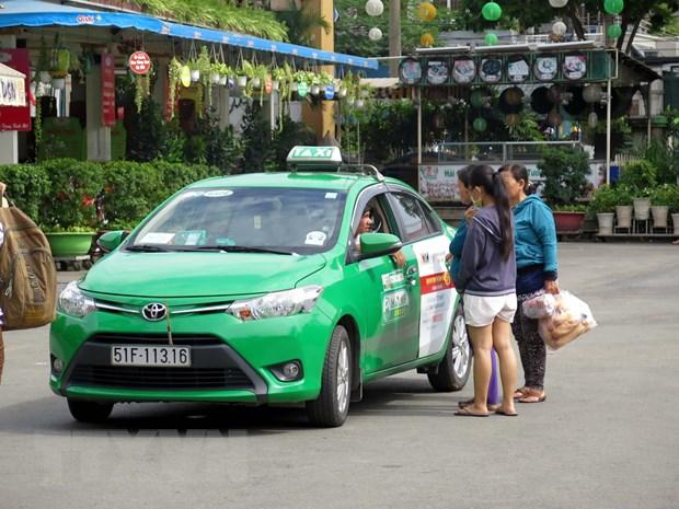 Thanh pho Ho Chi Minh: Moi co hai hang taxi lon giam cuoc hinh anh 1