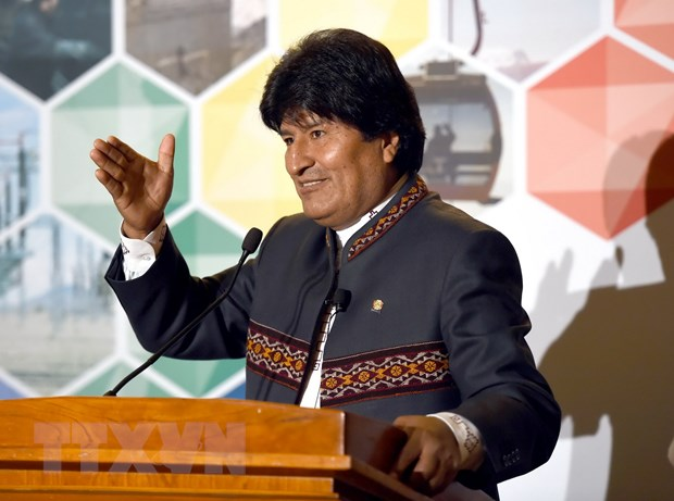 Bolivia to cao My am muu chong lai Tong thong Evo Morales hinh anh 1