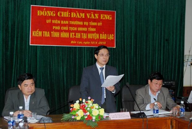 HDND tinh Cao Bang bau ong Dam Van Eng lam Chu tich hinh anh 1