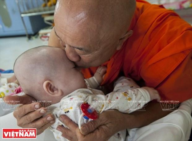 Chua Ky Quang II - Mai am tinh thuong cua nhung manh doi be nho hinh anh 4