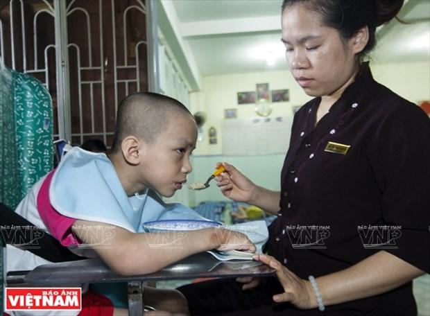 Chua Ky Quang II - Mai am tinh thuong cua nhung manh doi be nho hinh anh 9
