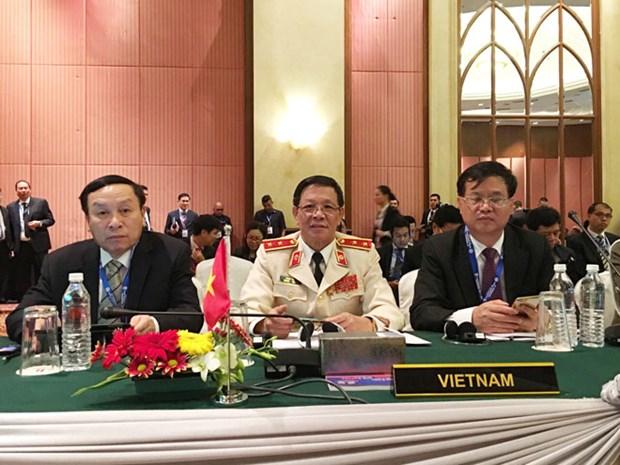 Hoi nghi Tu lenh canh sat ASEAN 36 tim giai phap chong khung bo hinh anh 1