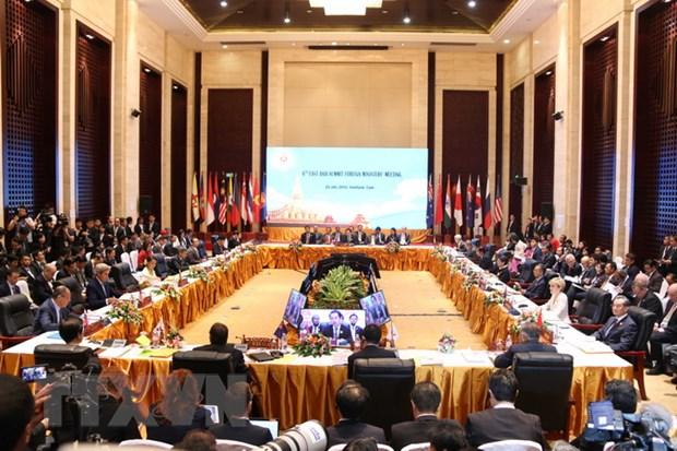 Viet Nam dong gop tich cuc cac Hoi nghi Ngoai truong ASEAN va doi tac hinh anh 1