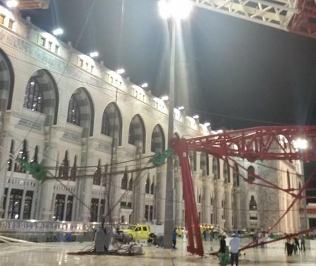 Saudi Arabia xu 14 nguoi lien quan toi vu sap can cau tai Mecca hinh anh 1