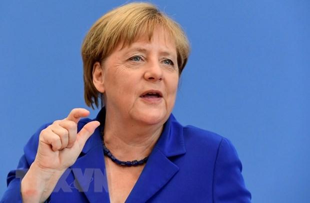 Thu tuong Duc Merkel tham Cong hoa Sec, Estonia va Ba Lan hinh anh 1
