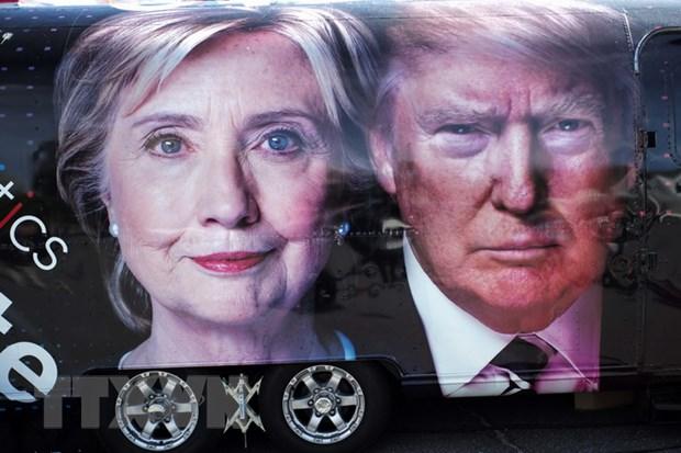 Clinton-Trump tranh luan truc tiep: Gay can ngay tu phut dau hinh anh 1