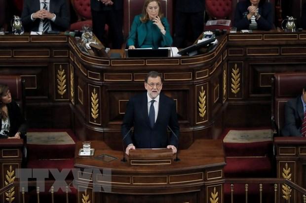 Tay Ban Nha: Tan Thu tuong Rajoy xuc tien lap chinh phu thieu so hinh anh 1