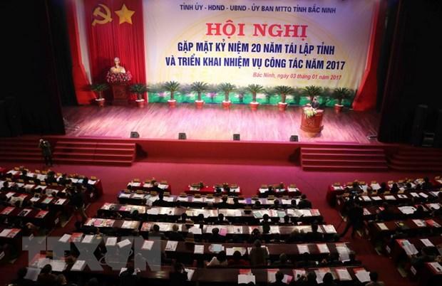 20 nam tai lap tinh Bac Ninh: Kien thiet mot thanh pho thong minh hinh anh 1