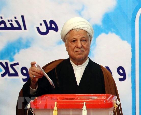 Cuu Tong thong Iran Akbar Hashemi Rafsanjani qua doi vi dau tim hinh anh 1