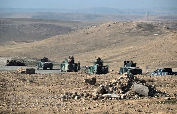 8.000 dan thuong doi khat so tan khoi Tay Mosul di lanh nan hinh anh 1