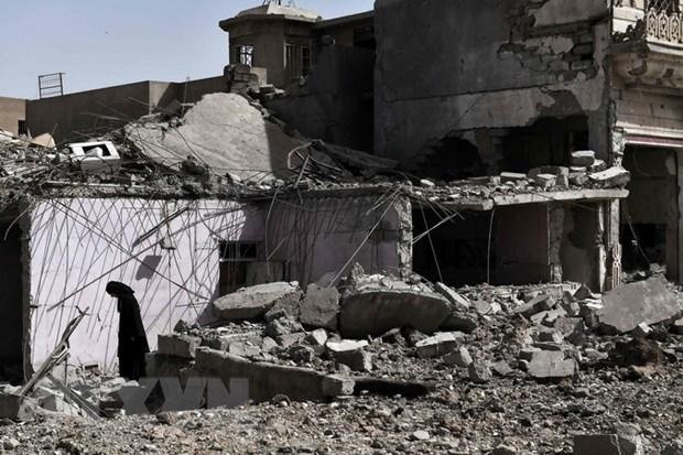Cac luc luong Iraq gianh lai duoc nha ga quan trong o Mosul hinh anh 1
