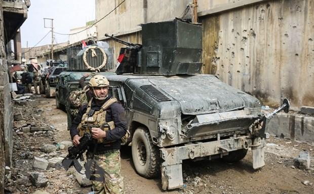 Pha 2 he thong duong ngam, quan doi Iraq tien sau hon vao Mosul hinh anh 1