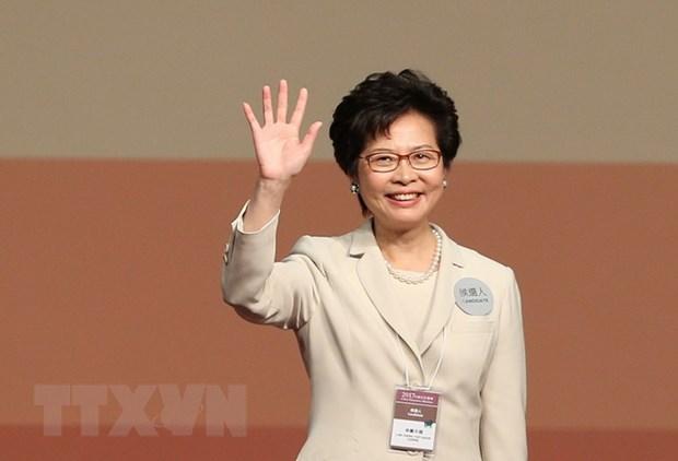Ba Lam Trinh Nguyet Nga dac cu Truong Dac khu Hanh chinh Hong Kong hinh anh 1