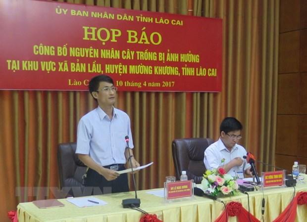 Lao Cai yeu cau doanh nghiep lam chet dua boi thuong cho dan hinh anh 1