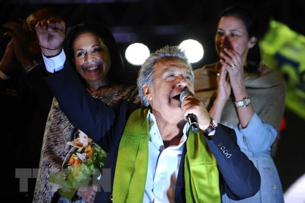 Ecuador se to chuc kiem lai 1,3 trieu phieu bau cu tong thong hinh anh 1