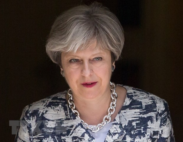Thu tuong Theresa May mong muon cong dan EU tiep tuc o lai Anh hinh anh 1