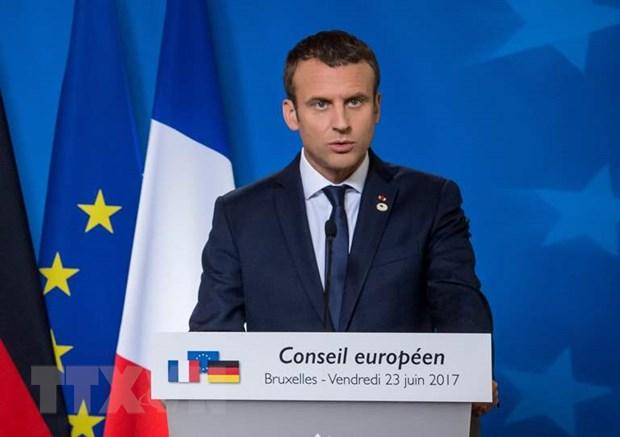 Tong thong Phap Macron thuc day hoa dam ve khung hoang Ukraine hinh anh 1