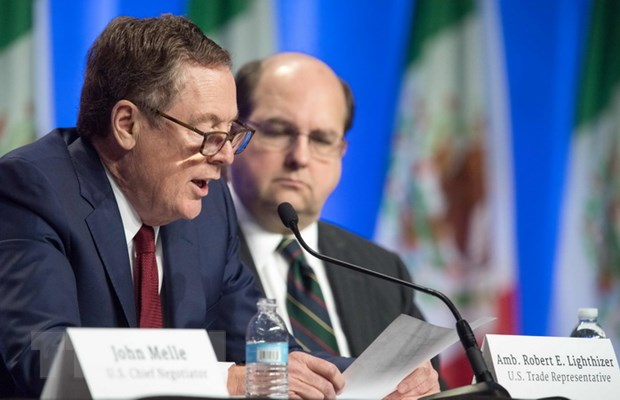 Mexico, My va Canada hoan tat tai dam phan NAFTA vao dau nam 2018 hinh anh 1