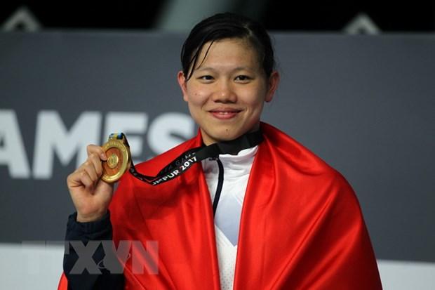 Kinh ngu 15 tuoi Kim Son pha ky luc SEA Games boi 400m hon hop hinh anh 2