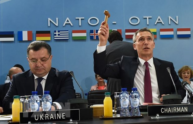 Ukraine nhan duoc nhieu su ho tro quan trong tu NATO 3 nam qua hinh anh 1